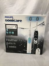 Philips Sonicare Plaque Control 2 Series Dual Sonic Toothbrush HX612/19 2 Pack
