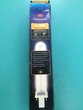 """Coralife 6700K Daylight 9w 7"""" PL-Type Base Replacement Lamp"""