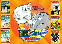 Shiver & Shake + Krazy UK Comics + Annuals + Specials On PC DVD Rom (CBR FORMAT)