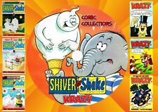 Shiver & Shake + Krazy UK Comics + Annuals + Specials On DVD Rom