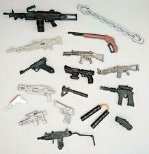 Job Lot Vintage Action Man Figure Equipment Weapons Machine Gun Pistol Rifle No3