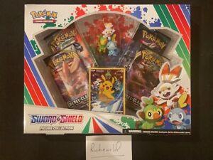 Factory sealed Pokemon Sword & Shield Figure Box- W/MINT SWSH 020 PIKACHU PROMO