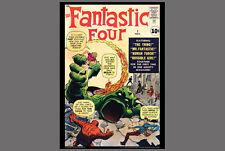POSTER: Marvel Comics FANTASTIC FOUR #1 (Nov. 1961) Cover Poster Print