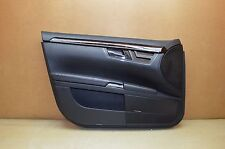 07-09 W221 MERCEDES BENZ S550 FRONT LEFT DRIVER SIDE DOOR PANEL BLACK ASSEMBLY