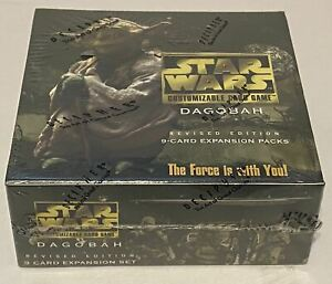 Star Wars CCG Dagobah Revised Edition Booster Box Factory SEALED SWCCG DECIPHER