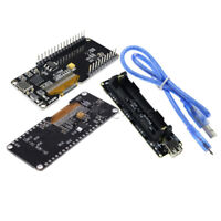 "0.96"" OLED ESP32 ESP8266 ESP-12F CP2102 Development Board 18650 + Battery Shield"