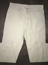 Mens Patagonia 35 X 32 KHAKI HIKING Pants Canvas Organic Cotton Outdoor Workwear