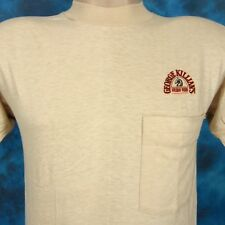 NOS vintage 80s GEORGE KILLIAN'S IRISH RED BEER POCKET T-Shirt XS coors soft