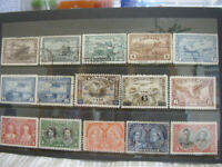 15 Vintage Canada stamps nice used priced .
