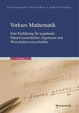 Duvenbeck, A: Vorkurs Mathematik von Andreas Duvenbeck (2009, Taschenbuch)