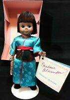 "Madame Alexander International Doll 8"" JAPAN #570 Stand Miniature Showcase VTG!!"