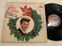 Merry Christmas From Bobby Vee LP Liberty Stereo Holiday Party VG