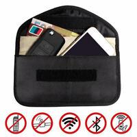 RFID  Blocking Bag Faraday Cage  Car Key  Signal Blocker Case Fob Pouch