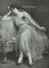 Winifred May Birkin Wife Of Rt Hon William Dudley Ward 1916 Photo Article D246