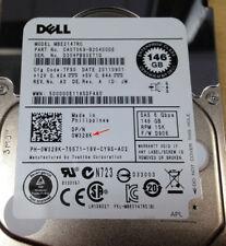 "Dell 0W328K 146 GB 15K RPM SAS 2.5"" 6 GBPS HARD DISK DRIVE CON KF248 Caddy"