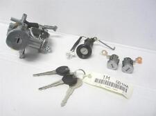 NEW OEM 1996 1997 Mazda MX6 Complete Ignition Door Trunk Lock Set Auto Trans
