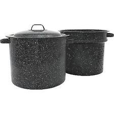 Granite Ware 6323-1 33-Quart Crab and Crawfish Cooker with Steamer/Drainer