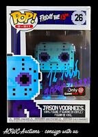 Funko POP! - 8-Bit Jason Voorhees NES (Game Stop) - Signed by Kane Hodder - JSA