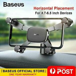 Baseus Dashboard Car Phone Holder Mount Gravity Stand for iPhone Samsung Huawei