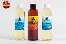 30% OFF LOT by H&B Oils Center ORGANIC JOJOBA GOLDEN and SWEET ALMOND PURE 24 OZ