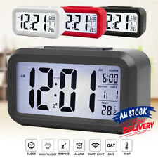 Led Electronic Alarm Clock IBQ& Calendar+Thermometer Backlight Time With Digital