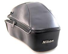 Genuino Nikon CF-46 alguna vez Listo Funda, tipo de borde largo para F601 N6006 + Lente de zoom