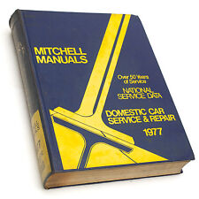 Mitchell National Service Data 1977 Domestic Car Service & Repair