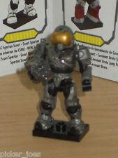 Mega Bloks 96978 HALO Series 7 UNSC SPARTAN SECURITY Micro Figure ULTRA RARE OOP