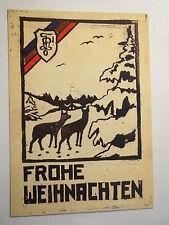 Wien - K.Ö.H.V. Pannonia - Frohe Weihnachten - 1933 - Reprint / Studentika