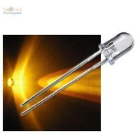 10 LED BLINKEND 5mm GELB FLASHING ALARM-DUMMY superhell
