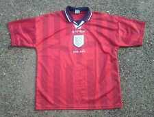 England Red Soccer Jersey ~ Men's Large L ~ Stage Three 3 Lions Team