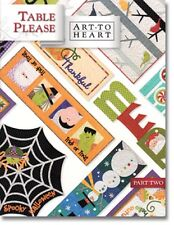 TABLE PLEASE PART TWO by Art to Heart Nancy Halvorsen Quilt Book Patterns Runner