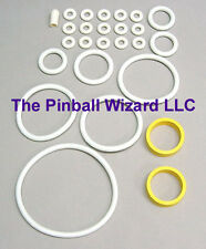 Kiss Pinball Machine White Rubber Ring Kit