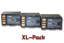 3x BATTERIA PER JVC BNVF823 BNVF823U