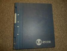 1995- 1996- Saab 900 Remote Control Theft Alarm VSS Electrical Service Manual