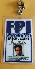 X-files TV Series ID Badge-Fox Mulder costume prop cosplay