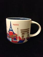 Starbucks Paris YAH Mug France Eiffel Tower Baguette Hat Coffee Cup You Are Here