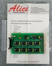 Alice EDA 8-1 Audio Distribution Amp Card