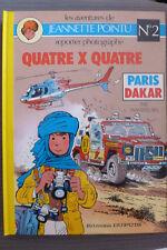 BD jeannette pointu n°2 quatre x quatre EO 1986 TBE signée par wasterlain