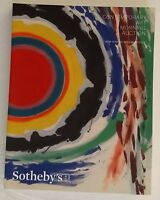 Sotheby's Contemporary Art Morning Sale Auction Catalog November 2015 Warhol