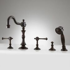 Signature Hardware Vintage Roman Tub Faucet and Handshower with Lever Handles