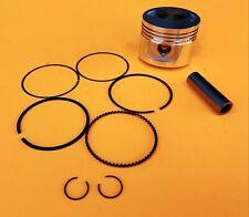 Piston 62mm Rings Wrist Pin Clips Honda CG150 Zongshen