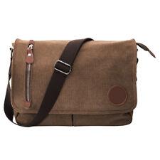 Men's Retro Vintage Briefcase Messenger Canvas Shoulder Bag Handbag Satchel Bags