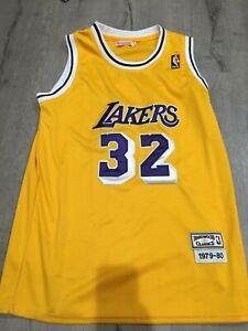 Mitchell Ness Magic Johnson Lakers Jersey 1979-80 Size XL 48 Hardwood Classics