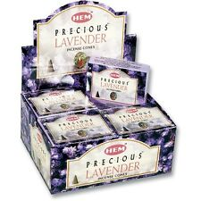 Hem Lavender Incense Cones, Bulk Lot 3 Pack of 10 Cones = 30 Total Always Fresh