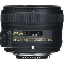 Spring Deals 50mm 1.8 Nikon Nikkor 50 mm F/1.8G Fx As G Swm Af-s Sic M/a Lens