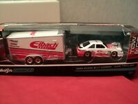 Maisto 1993 Ford SVT Cobra Mustang   & Car Trailer  NIB 1/64 scale 2020 release