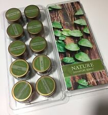 Lot of 10 Nature Signature Series Wax Melts Assorted Scents New Gold Canyon