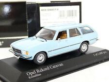 Minichamps 400044014 1/43 1975 Opel Rekord D Caravan Diecast Model Car