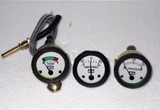 Minneapolis Moline Tractor Temp Oil Pressure Ammeter Gauge set for G R U Z 335